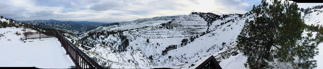 Mountains Snow Landscape Winter