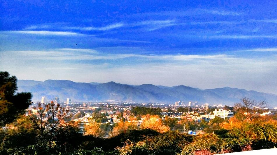 Mountain Mountain Range Forest City Sky Landscape Blue Tree Cloud - Sky Nature Dramatic Sky Mountain Peak Beauty In Nature Islamabad Pakistan