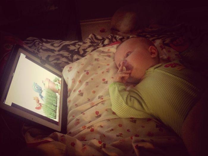She loves her Baby Einstein!