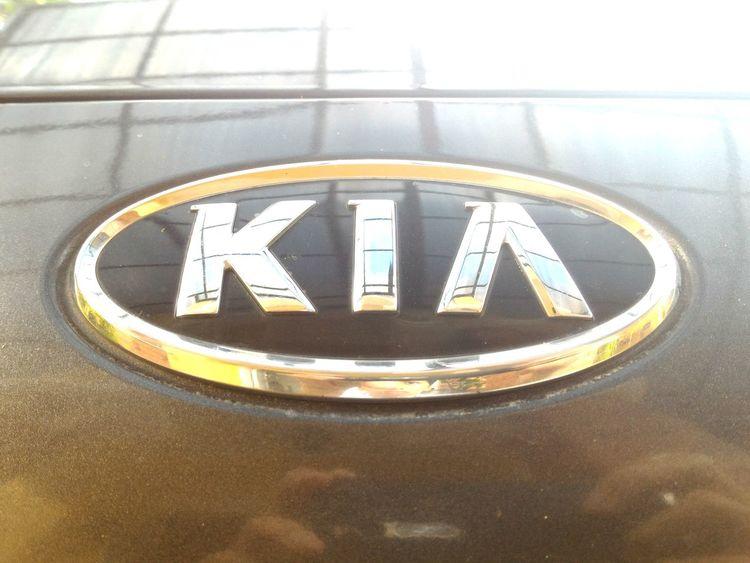 Shining KIA Car logo