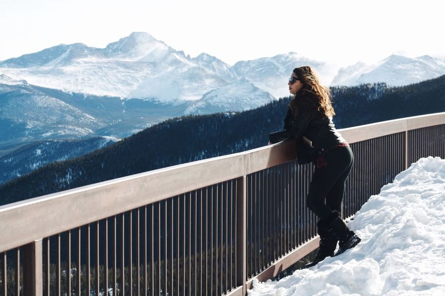 Most amazing view! Mountain Adventure Beauty In Nature Landscape Snow Winter