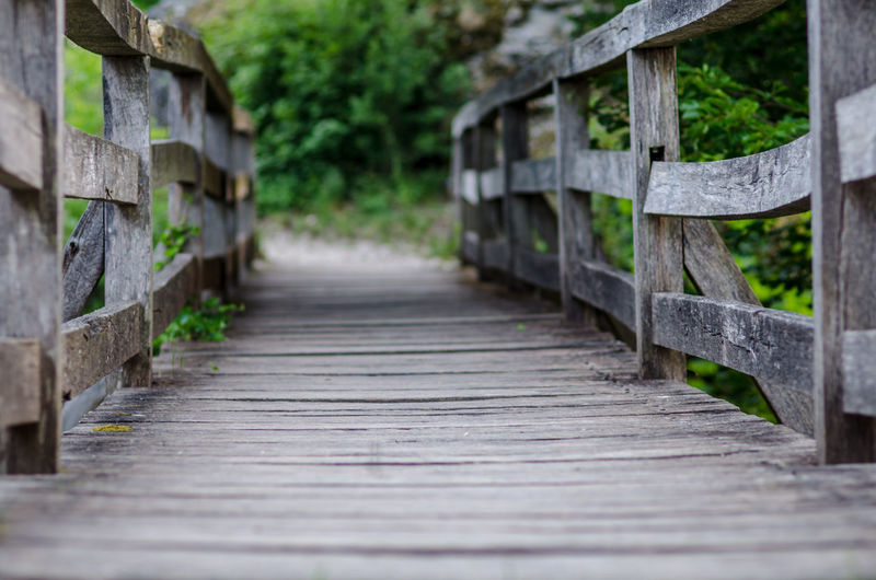 Footbridge Bridge - Man Made Structure Wood - Material Beauty Architecture Built Structure