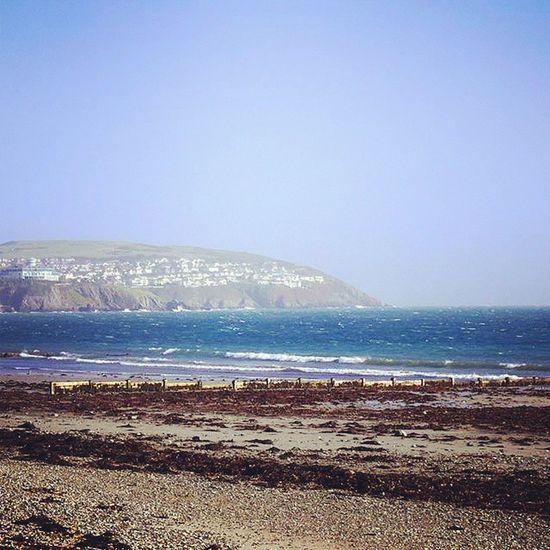 Perfect weather in Douglas, IOM yesterday! IOM Isleofman Douglas Sunshine windy beach promenade latergram
