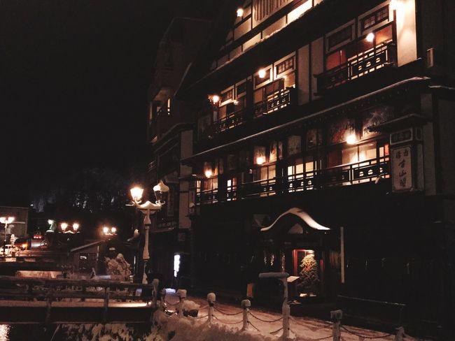 Ginzan Onsen 「銀山温泉」 Night Hotel Memory Japan