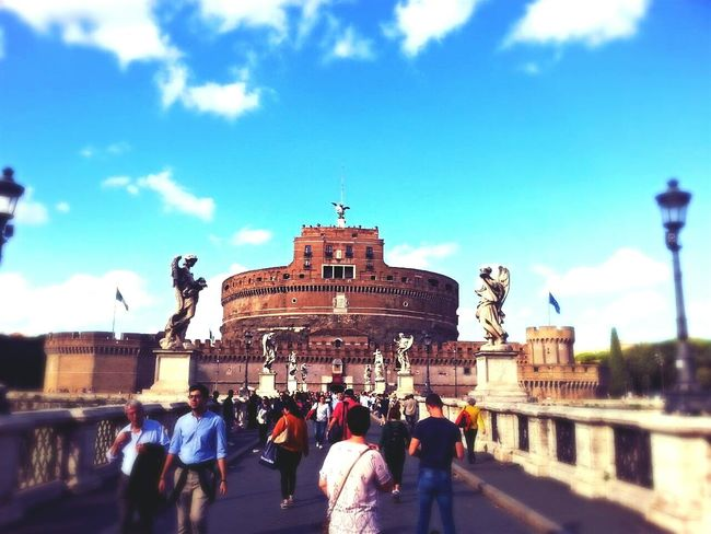 Travel Tourist City Gate Built Structure Travel Destinations Rome Roma Rom Smartphone Photography Traveling Travel Photography Big City Life Smartphonephotography Site Seeing Outdoors People Architecture Tourism The Street Photographer - 2017 EyeEm Awards