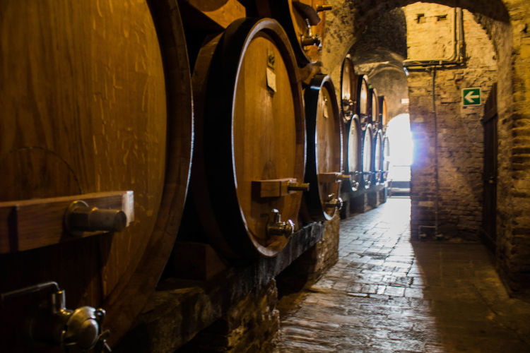 Casks Montepulciano Montepulciano's Cellars No People Old Silence Here Wine Wine Rest Wine Tasting Wood
