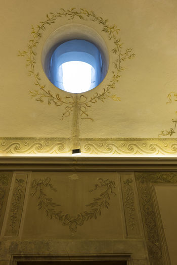 CARDITELLO Observatory Architecture Close-up Day Fresco Paintings Historic Hole Indoors  No People