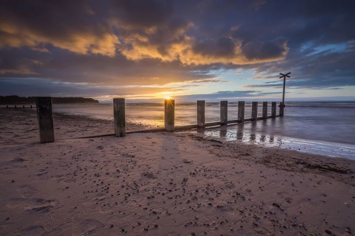 Findhorn setting sun just before getting hammered by hail. Scotland Sunrise_sunsets_aroundworld Countryside Nikon Leefilters Morayshire Landscape Seascape Beach Nature Sunset Tokina 11-16 Mm F/2,8 Nikon D7200