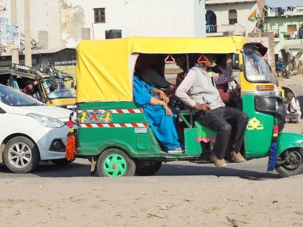 India on the street Transportation City