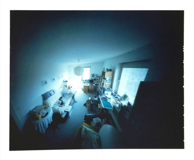 Pinhole Photography Fp100c Peel Apart Film Analogue Photography Filmisnotdead Buyfilmnotmegapixels Pinhole Image Camera Obscura Workroom Hobbyroom Escaping Safehaven Q = Quiet Places Quiet Moments Quality Time Relaxing The Devil's In The Detail perhaps it does not look like - but Everything In Its Place :)) Relaxing Hanging Out Enjoying Life