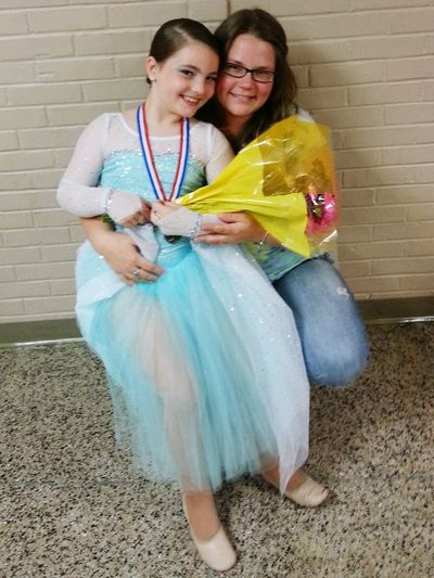 Proudmama Ballerina Most Improved My Dancer Loving Life  My Little Girl Happy People