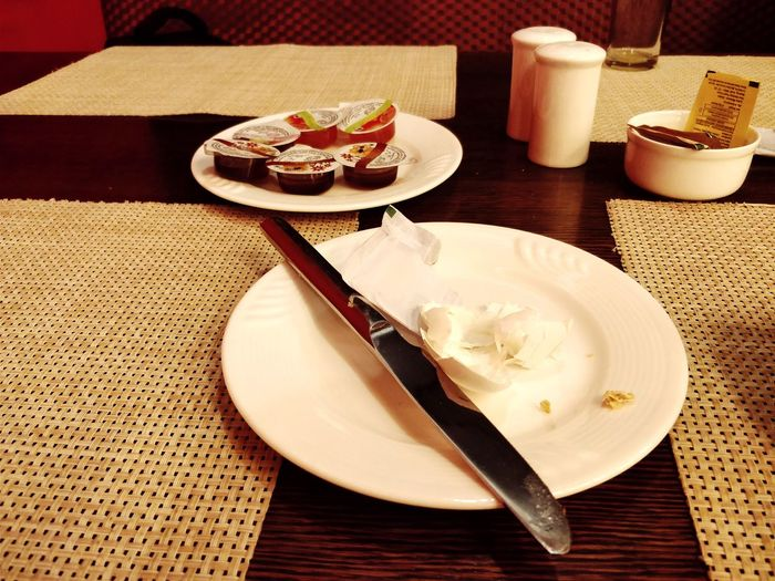 empty plate after eating Buffet Empty Plate Food And Drink Tablecloth Eaten Close-up Plate Table Indoors  No People Cutlery Table Knife Leftovers Served Eating Utensil