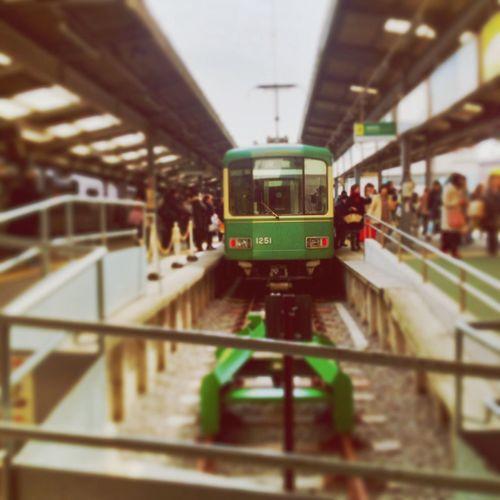 Going West Japan Double Exposure Train Public Transportation