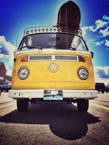 Ready for the Beach Vans VW Volkswagen Volkswagon Iphone6 Iphonegraphy IPhoneography Summertime Surfboard