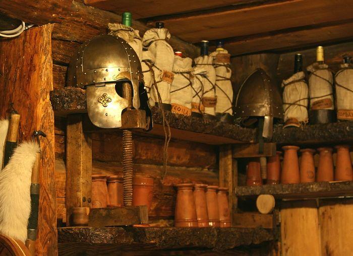 Helmet Bottles Ceramics Vikings  Viking Village Viikingite Küla Time Travel Time Traveling History Middle Ages Estonia Restaurant Authentic шлем керамика бутылки история Средневековье путешествие во времени эстонич ресторан