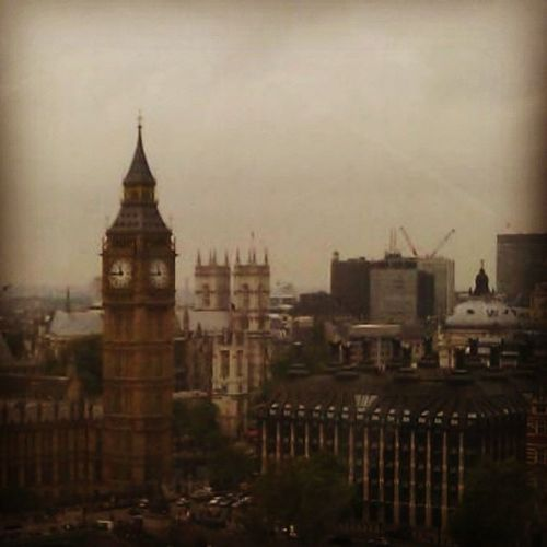 Big Ben from the London Eye.