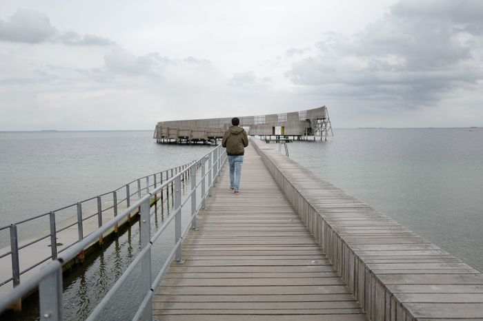 Autumn in Kastrup Søbad Water Cloud - Sky Pier Nature Lifestyles Outdoors