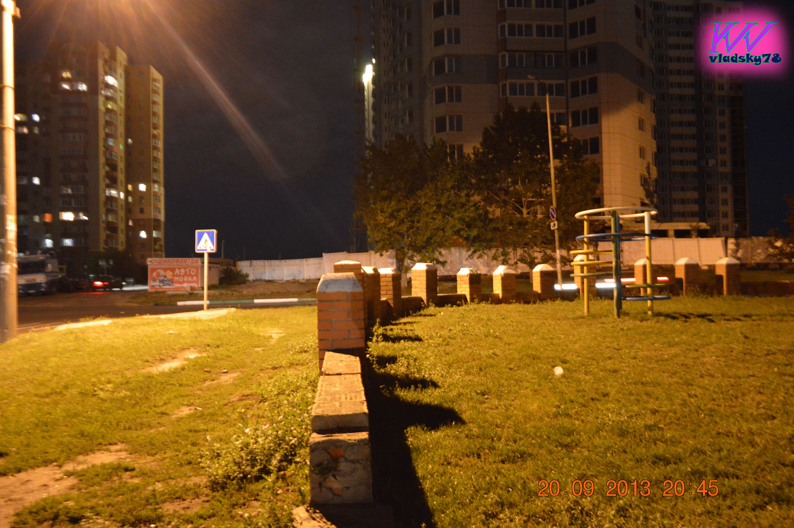 night, illuminated, grass, no people, outdoors, built structure, building exterior, city, architecture, tree, sky