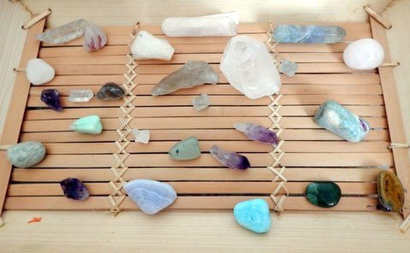 A few of my crystals Crystals Crystal Healing