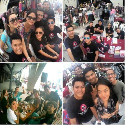 The fabulous team at the fabulous bazaar Tfb2014