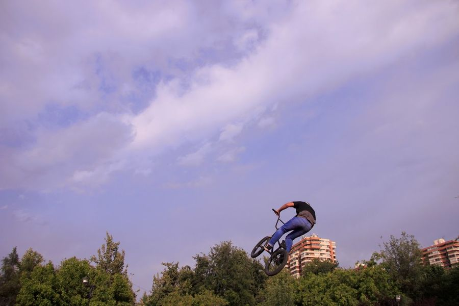 waiting game Spinning In The Air On Bike Sky Day Cloud - Sky Tree Passion Like Climbing The Tree Cloud Sport Sky Adventure Sport Not Traditional Extreme Sport