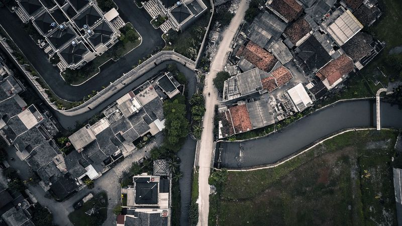 Aerial View City Architecture Building Exterior High Angle View Cityscape Built Structure Outdoors Day Roof Road Travel Destinations No People Urban Skyline Above Uav
