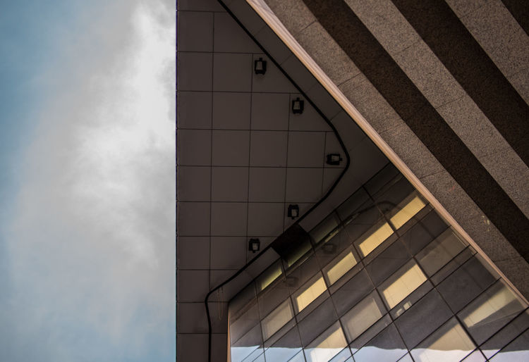 sky and city Architecture Sky And City Architecture Building Exterior Built Structure Close-up Day Low Angle View Modern No People Outdoors Sky Sky And Architecture Sky And Building
