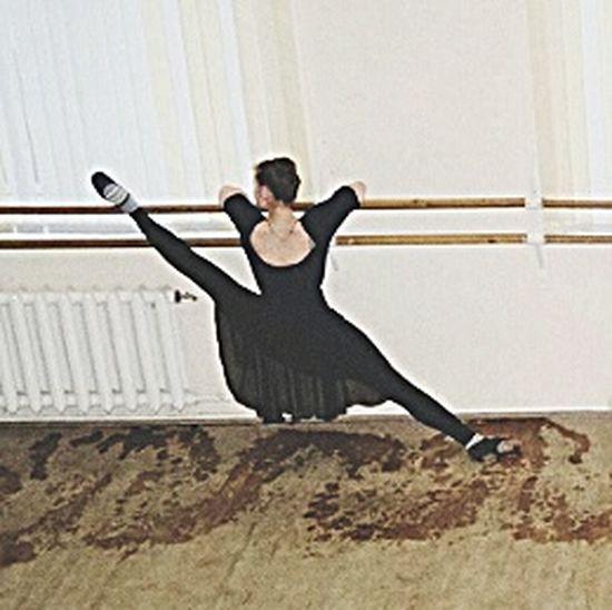 Народный танец, растяжка