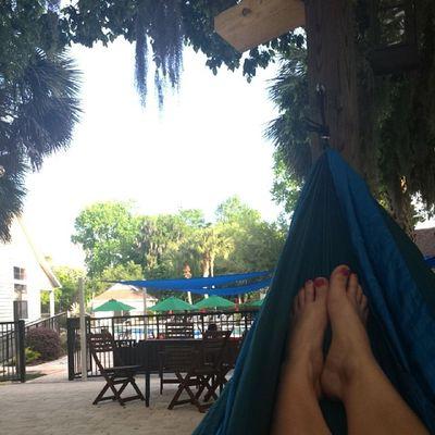 Hammock afternoons >> Chill Iloveflorida Swing Hammock relaxing