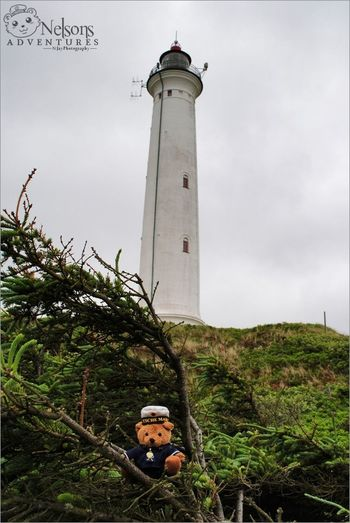 Summer 2013: Nelson in front of the Lighthouse of Lyngvig. NelsonsAdventures Denmark Landscape
