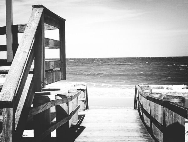 Repost Water Vacations Tourist Sea Outdoors Nature No People Bw_collection Fortheloveofblackandwhite Blackandwhite Monochrome Black And White Kühlungsborn