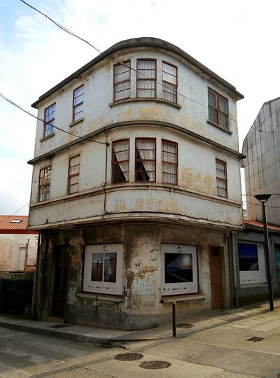 Old Buildings Streetphotography Street Photography Urban Town Village Carballo Galicia, Spain Sunset No People, No People Windows Old Building Exterior House