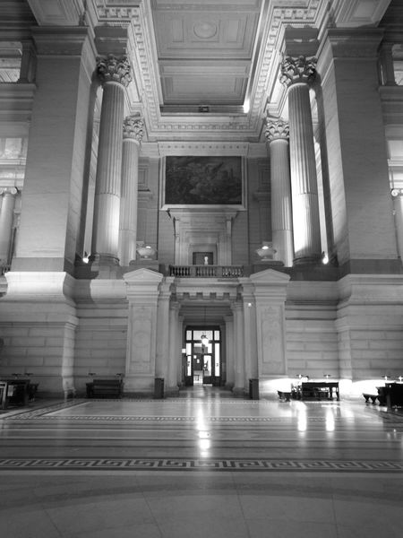Architectural Column No People Indoors  Justice Palace Bruxelles Poelart