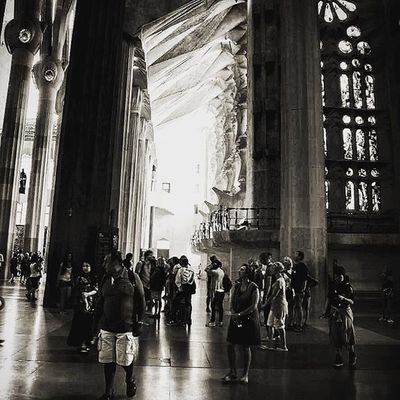 Cathederal Cathederalphotography Segradafamilia Awesomedesign Abstractdesigns Lightandshadow Lightandshade Barcelona Barcelone Catalonia SPAIN Beingatourist  Blackandwhite Bnw Bnw_society Bnw_captures Bnw_life Europe Eyeforphotography Eyeforbeauty Eyeforbeautyphotographs Photographyislifee