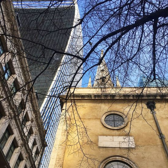 20 Fenchurch Street London Architecture Low Angle View