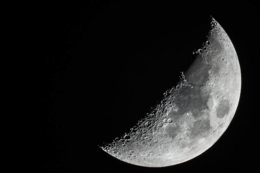 Moon Phases Astronomy Beauty In Nature Black Background Close-up Dark Moon Moon Surface Moonlight Nature Night No People Outdoors Planetary Moon Scenics - Nature Sky Space Space And Astronomy Tranquility