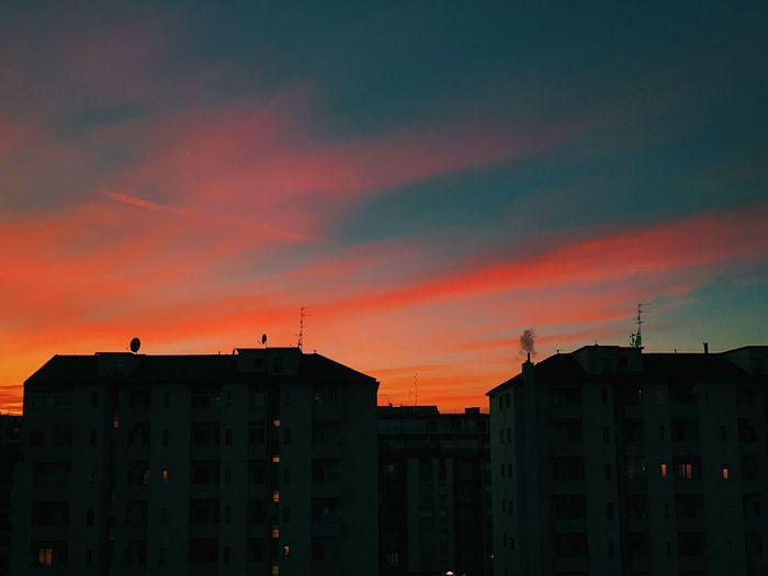 Sunset Milano First Eyeem Photo