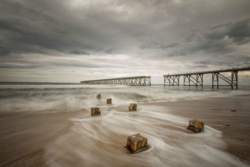 Long exposure NiSi Filters Nisi Beach Photography Nikond7200 Steetly Sigma 10-20mm Nikon Sea And Sky Seascape Beachphotography Amazing Beach Long Exposure Nikonphotography Nikonphotographer Clouds And Sky Sigma 10-20 Backwash Seascape Photography Steetly Pier Pier Sea SeaScapePhotography