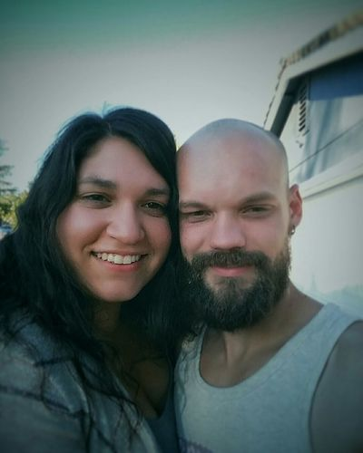 Q enjoying the Day with my Fiance