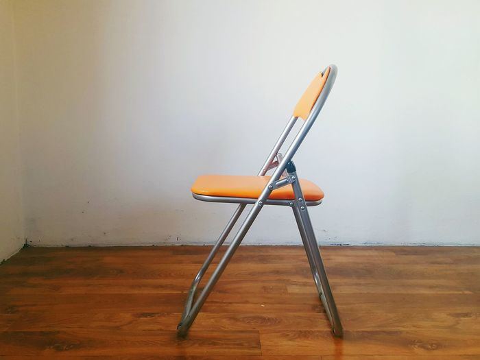 Folding chair indoors