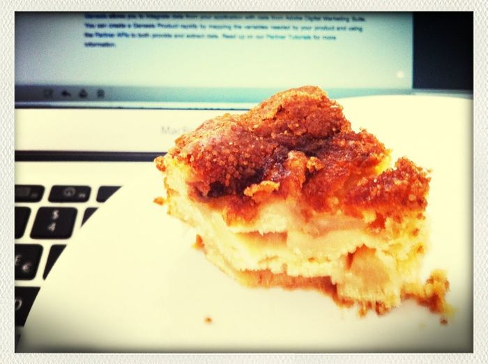 Rumors I choose my business partners based on home made fresh apple pie are partly wrong.