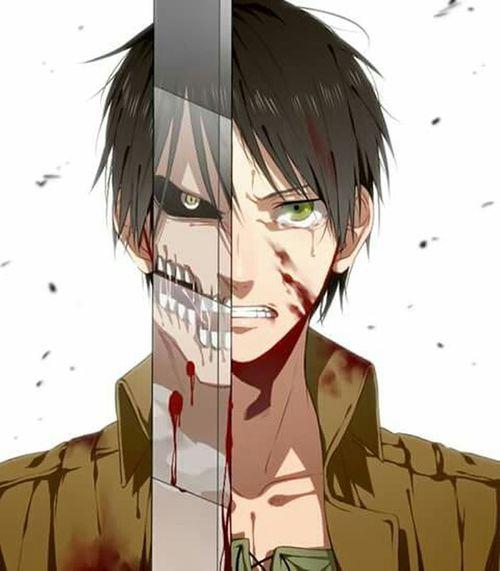 Attackontitan Erenjaeger Animelover Anime Animeboy Sugoii Titan ShingekinoKyojin Otaku