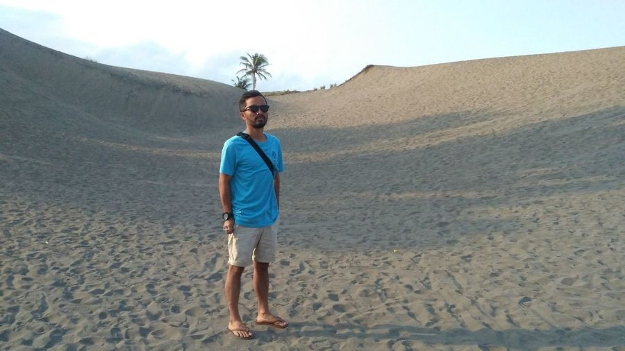 Pasir gumuk yogjakarta indonesia,this place for activity sand bording