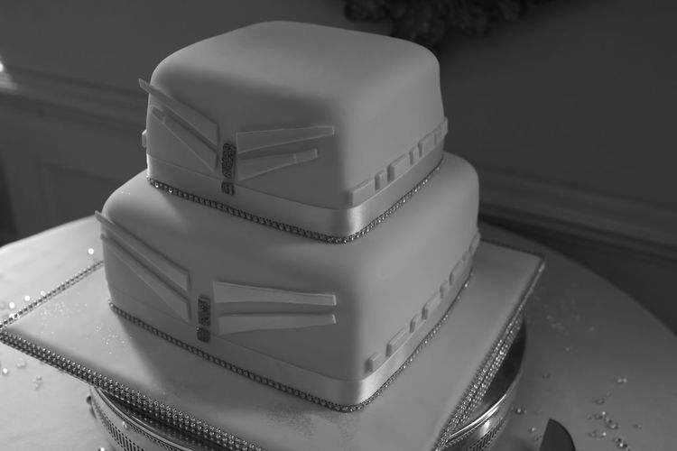 'Art deco cake' Art Deco Black And White Cake Close-up Day Dessert Food Food And Drink Freshness Indoors  No People Ready-to-eat Sweet Food Table Wedding Wedding Cake