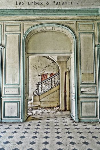 History Abandoned Door Arch Entrance Architecture Built Structure Day No People Urban Decay Urban Exploration Urban Photography Urbex Doorway Outdoors Entry