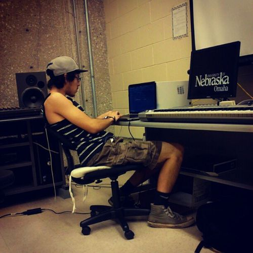 This man never stops working.... Musicproducer Workingtowardsadream