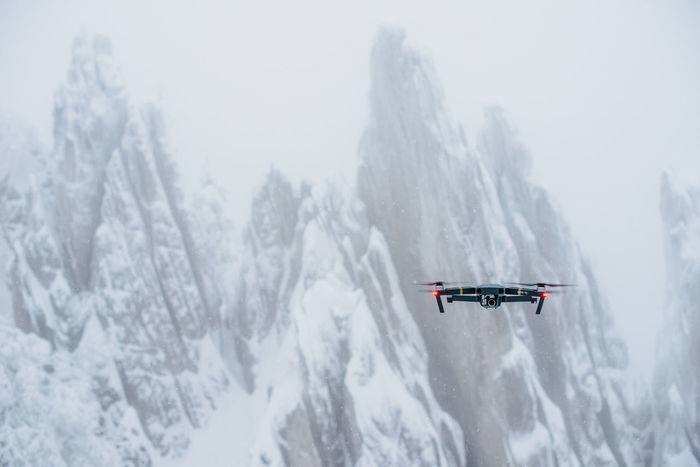Drone  Beauty In Nature Cold Temperature Day Mavic Mountain Nature No People Outdoors Snow Weather Winter