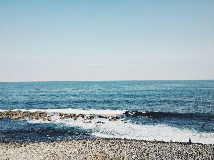 Sea And Sky Blue Wave Sea