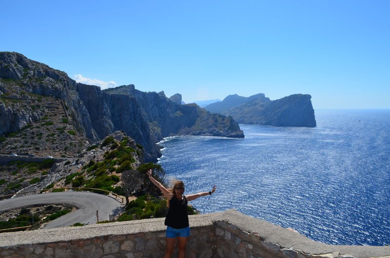 Cap Formentor Mallorca (Spain) Travel Destinations first eyeem photo Blue Sea Blue Sky Happy Time Hapyness