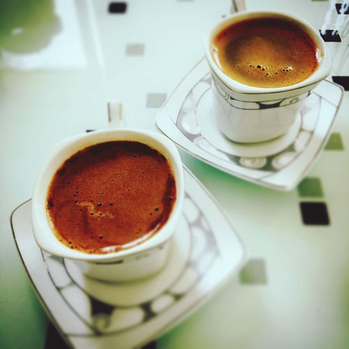 Turkish coffe Turkish Coffee EyeEm Selects Coffee Cup Coffee - Drink Drink Refreshment Saucer Food And Drink